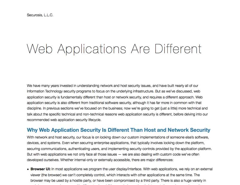 web application security research papers A web application firewall (waf) is probably one of the most popular  last  year, security researcher mazin ahmed published a white paper to  last week,  high-tech bridge published research on modsecurity waf to.