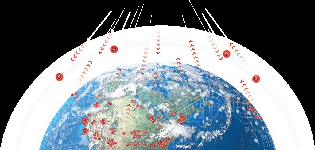Qualys globe sensors