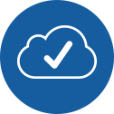 check cloud icon