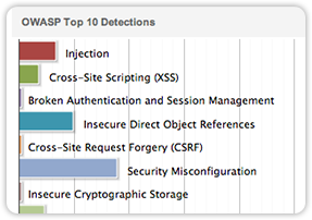 OWASP top 10 detections