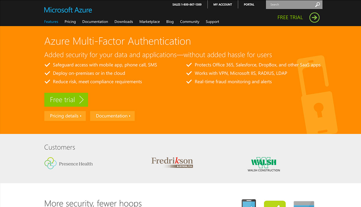 PhoneFactor home page