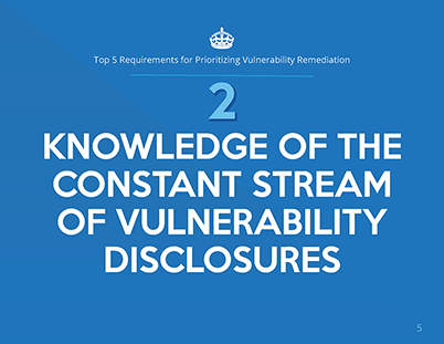 Top 5 Requirements for Prioritizing Vulnerability Remediation whitepaper page 2