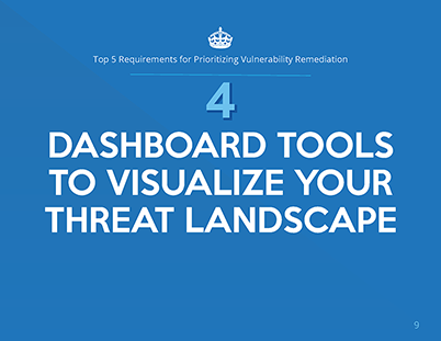 Top 5 Requirements for Prioritizing Vulnerability Remediation whitepaper page 5