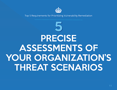 Top 5 Requirements for Prioritizing Vulnerability Remediation whitepaper page 6
